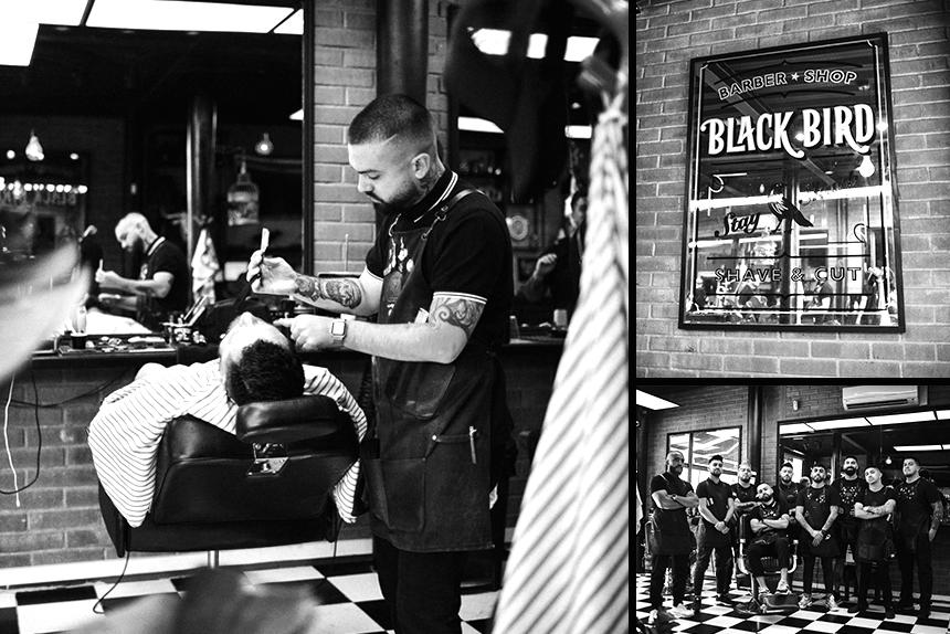 UPPERCUT-今月の理髪店:BARBERIA BLACK BIRD