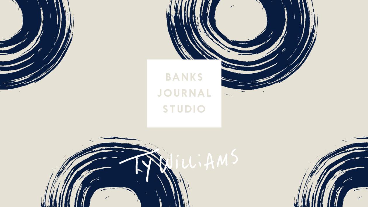 BANKS JOURNAL から、Ty Williamsとのコラボアイテムが登場。