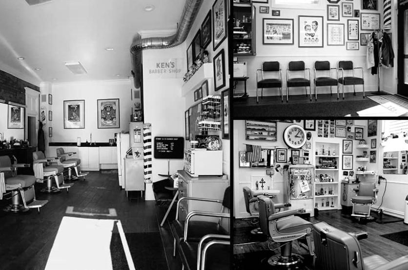 UPPERCUT DELUXE-今月の理髪店:SPANKY'S BARBERSHOP