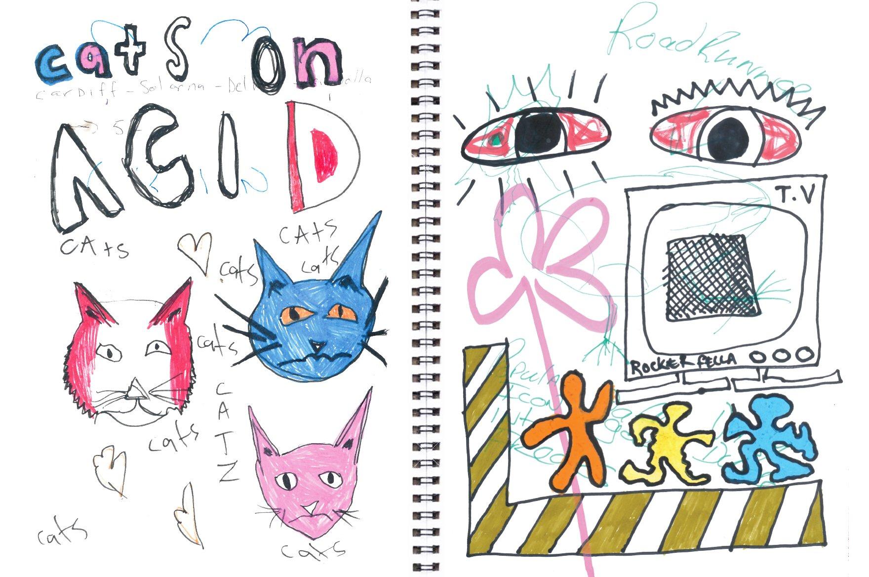 Afends-ACID CAT、 トリッピーなカプセルコレクション